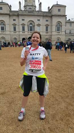 One of our happy 2015 runners